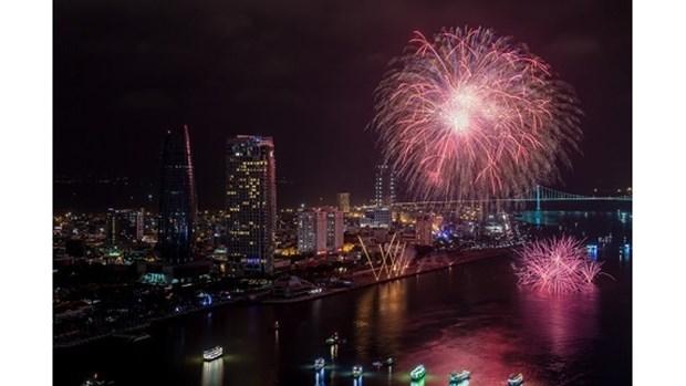 Da Nang : Festival de feux d'artifice 2019 hinh anh 1