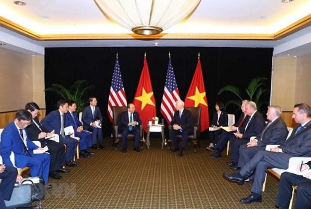 Le Vietnam veut elever son partenariat integral avec les Etats-Unis hinh anh 1