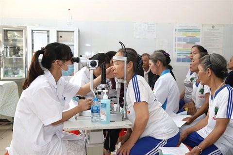 L'Hopital ophtalmologique Hanoi 2 eclaire la vue des diabetiques hinh anh 1