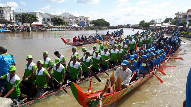 Bientot le festival d'Ok Om Bok de Tra Vinh hinh anh 1