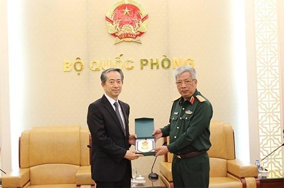 Les liens de defense, l'un des piliers importants des relations Vietnam-Chine hinh anh 1