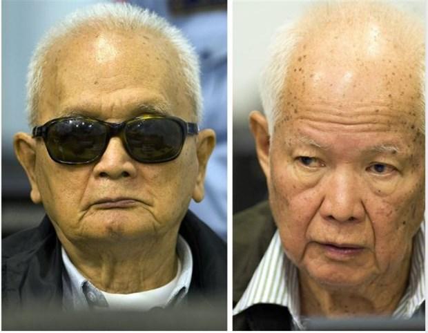 Deux anciens dirigeants khmers rouges condamnes pour genocide hinh anh 1