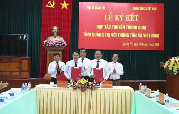 La VNA et la province de Quang Tri scellent leur cooperation hinh anh 1