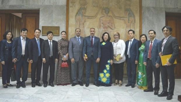 Hanoi renforce ses relations avec l'Egypte hinh anh 1