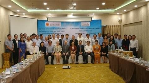 Reunion de bilan de la cooperation OIF-MOLISA pour la periode 2017-2018 hinh anh 1