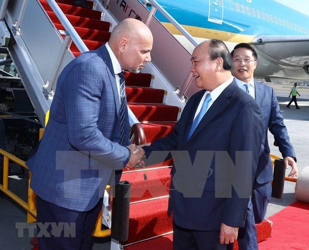 Sommet de l'APEC : Nguyen Xuan Phuc arrive en Papouasie-Nouvelle-Guinee hinh anh 1