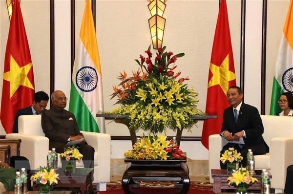 Le president indien Ram Nath Kovind se rend a Da Nang hinh anh 1
