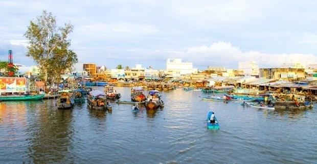 Plongee dans les marches flottants du delta du Mekong hinh anh 1