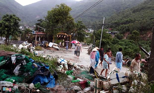 Le PM adresse ses condoleances aux victimes du typhon Toraji hinh anh 1
