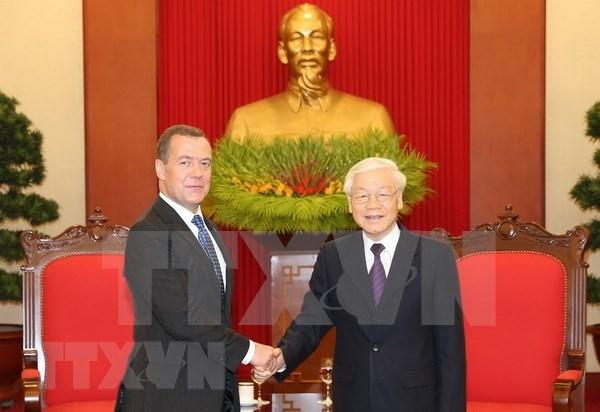 La Russie, partenaire fiable du Vietnam hinh anh 1
