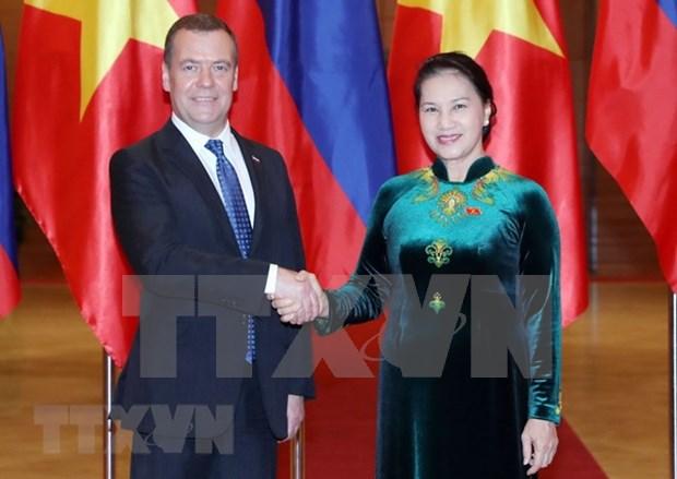 L'Assemblee nationale du Vietnam soutient le renforcement des liens avec la Russie hinh anh 1
