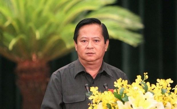 Un ancien vice-president du Comite populaire de Ho Chi Minh-Ville arrete hinh anh 1