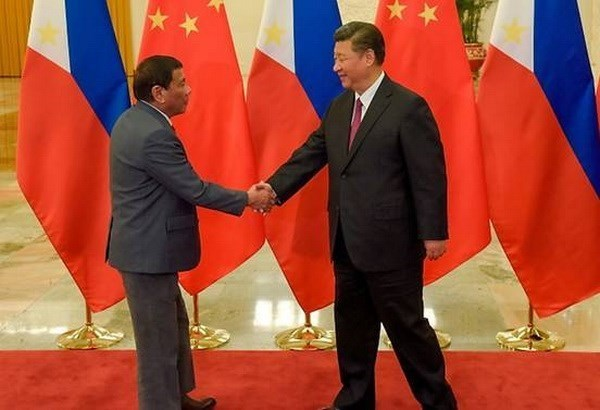Le president chinois effectue sa visite d'Etat aux Philippines hinh anh 1