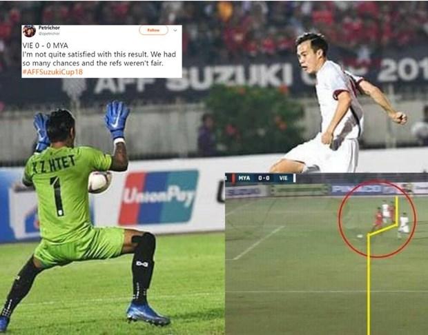 AFF Suzuki Cup 2018 : La presse asiatique regrette le but vietnamien refuse hinh anh 1