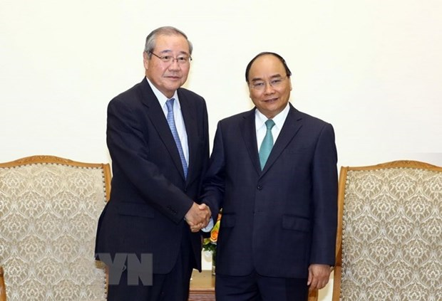 Le PM demande a SMBC d'accroitre ses investissements au Vietnam hinh anh 1
