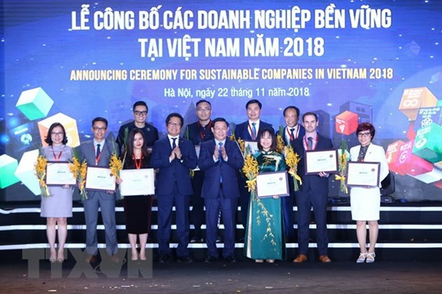 Cent entreprises durables au Vietnam mises a l'honneur hinh anh 1