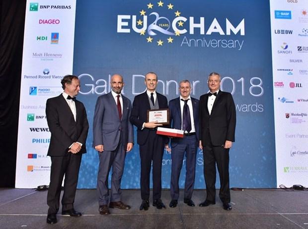 Piaggio au Vietnam honore par EuroCham hinh anh 1