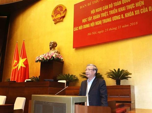Videoconference nationale pour apprehender les contenus du 8e Plenum du PCV hinh anh 1