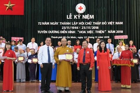 """Des """"fleurs de bienfaisances"""" a Ho Chi Minh-Ville hinh anh 1"""