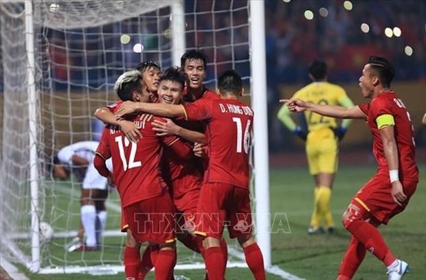 AFF Suzuki Cup: le Vietnam s'impose face au Cambodge en dernier match de la phase eliminatoire hinh anh 1