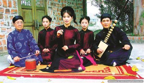 Hanoi donne une nouvelle jeunesse au ca tru, patrimoine culturel mondial hinh anh 2
