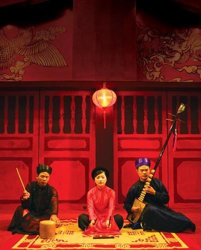 Hanoi donne une nouvelle jeunesse au ca tru, patrimoine culturel mondial hinh anh 3