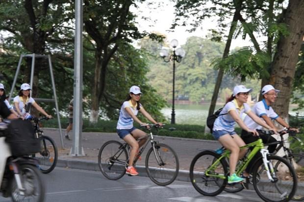 A velo pour decouvrir la capitale Hanoi autrement hinh anh 1