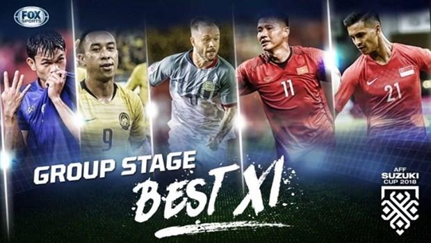 AFF Suzuki Cup 2018: Meilleur onze de la phase de groupes hinh anh 1