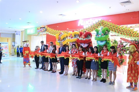 Inauguration du supermarche Auchan Crescent Mall hinh anh 1