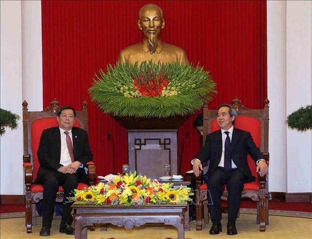 Un responsable du PCV affirme l'importance des liens Vietnam-Chine hinh anh 1