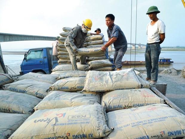Hausse spectaculaire des exportations nationales de ciment et de clinker hinh anh 1