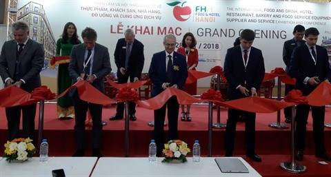 Ouverture de l'exposition Food & Hotel 2018 hinh anh 1