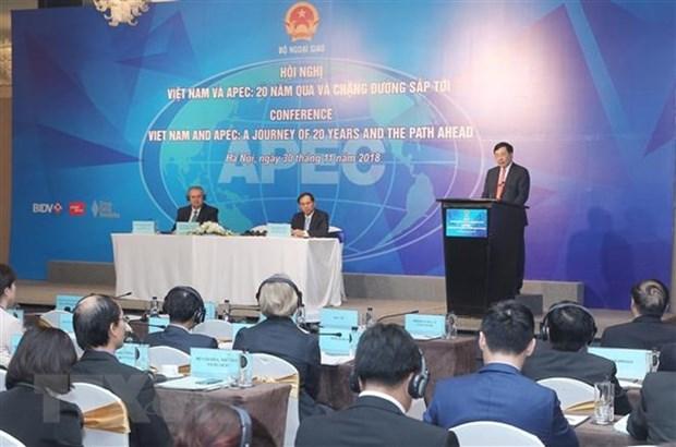 Le Vietnam avance trois initiatives pour l'APEC hinh anh 1