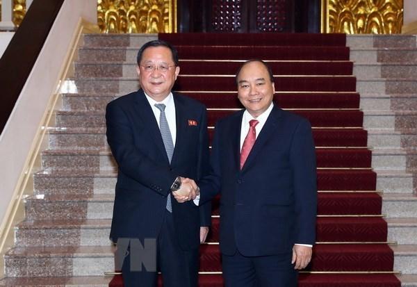 Le Vietnam pret a cooperer avec la RPDC pour les interets des deux peuples hinh anh 1