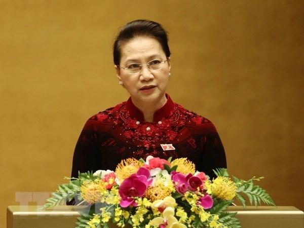 La presidente de l'AN part pour la Republique de Coree hinh anh 1