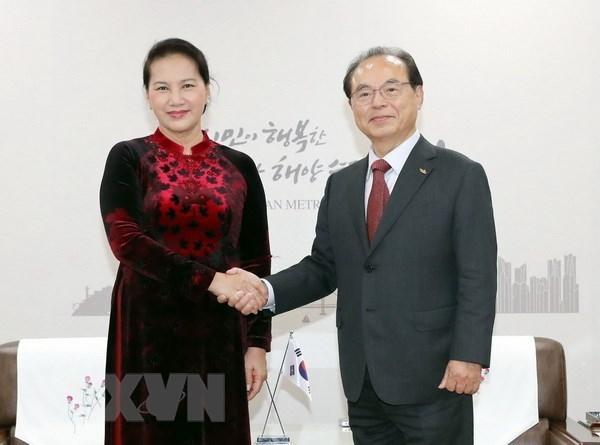 La presidente de l'AN plaide pour le partenariat strategique Vietnam-R. de Coree hinh anh 1