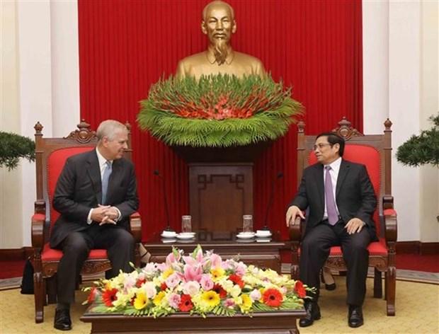 Le Vietnam cherit ses relations avec le Royaume-Uni hinh anh 1