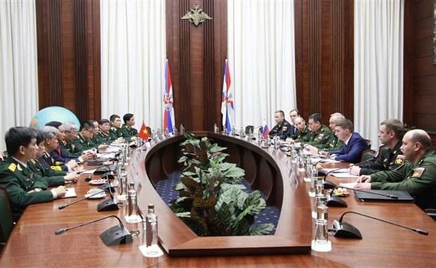 Le Vietnam et la Russie tiennent leur 4e dialogue sur la strategie de defense hinh anh 1