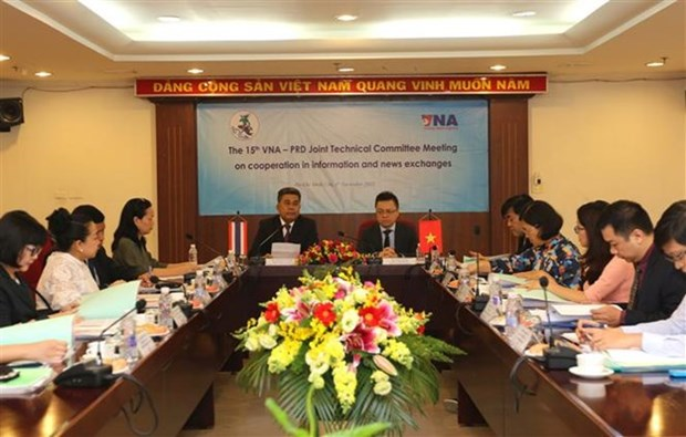 Vietnam-Thailande : la VNA et le PRD intensifient leur cooperation hinh anh 1