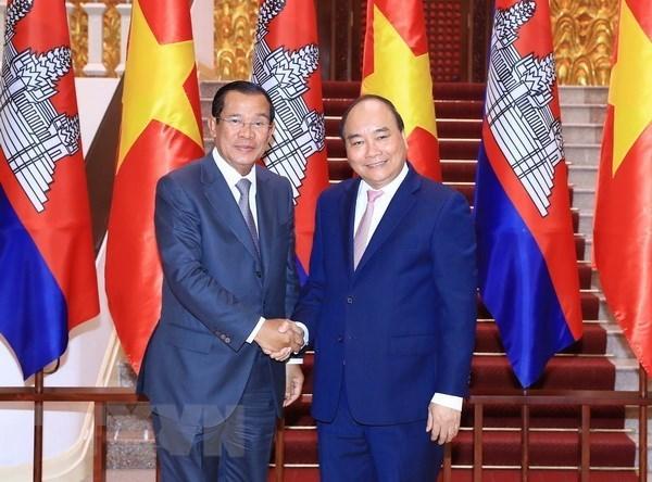 Developpement des relations d'amitie et de bonne cooperation Vietnam-Cambodge hinh anh 1
