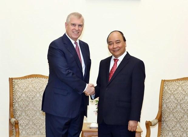 Promotion de la cooperation entre le Vietnam et le Royaume-Uni hinh anh 1