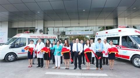 Ho Chi Minh-Ville: le reseau d'urgence 115 pour les zones peripheriques hinh anh 1