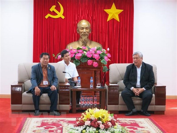 Binh Duong accueille une delegation cambodgienne hinh anh 1