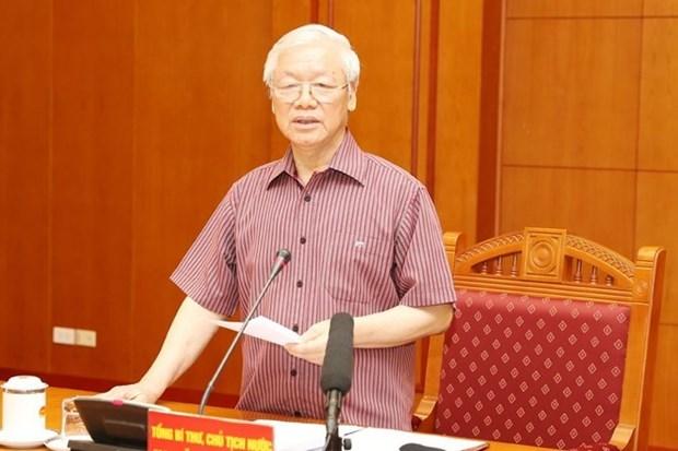 Le sous-comite sur les documents du 13e Congres national du PCV se reunit hinh anh 1
