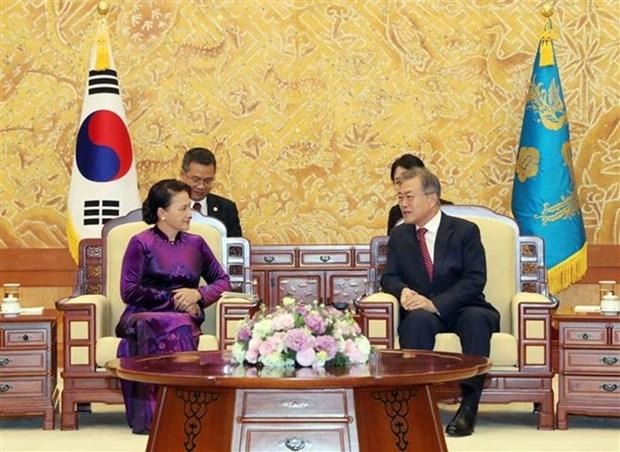 Le Vietnam souhaite approfondir le partenariat de cooperation strategique avec la R. de Coree hinh anh 1
