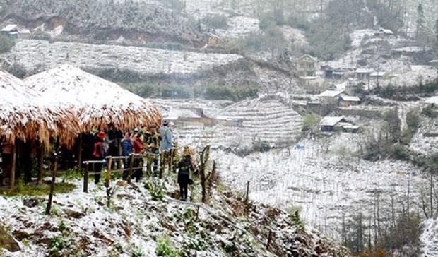 Diverse activites au Festival d'hiver de Sa Pa 2018 pour celebrer Noel hinh anh 1