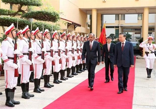 Le Vietnam et Singapour renforcent leur cooperation contre la criminalite hinh anh 1