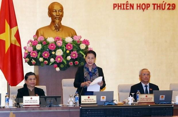 Ouverture de la 29e reunion du Comite permanent de l'AN hinh anh 1