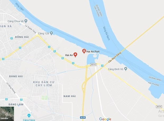 Un marin etranger meurt a son arrivee dans le port de Hai An hinh anh 1