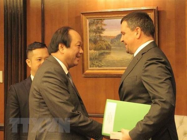 Le Vietnam et la Russie promeuvent la cooperation dans l'edification de l'e-gouvernement hinh anh 1